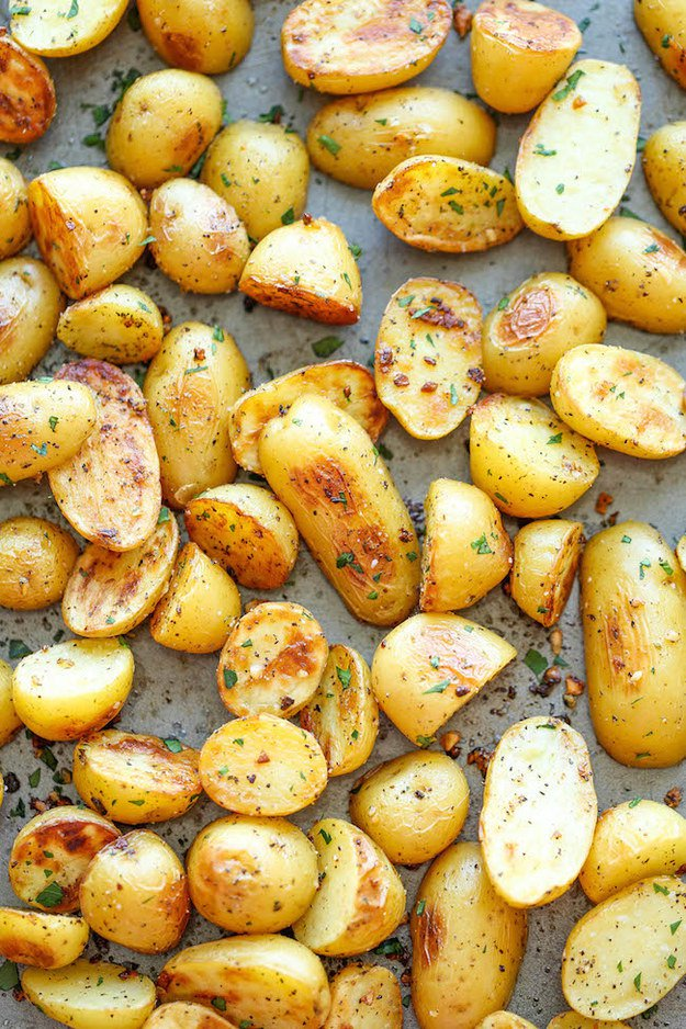 Garlic Ranch Roasted Potatoes
