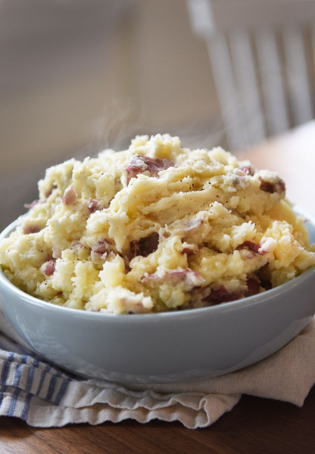 Garlicky Smashed Potatoes