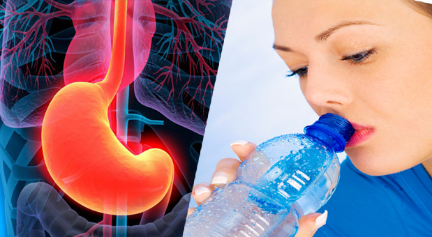 Drinking water after meal causes cancer