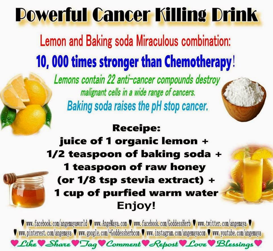 Powerful Cancer Killing Drink Recipe