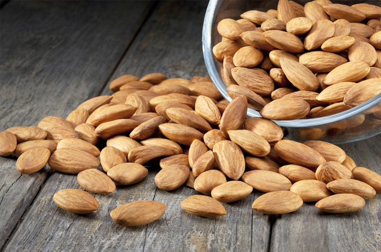 almonds nutrition facts per almond