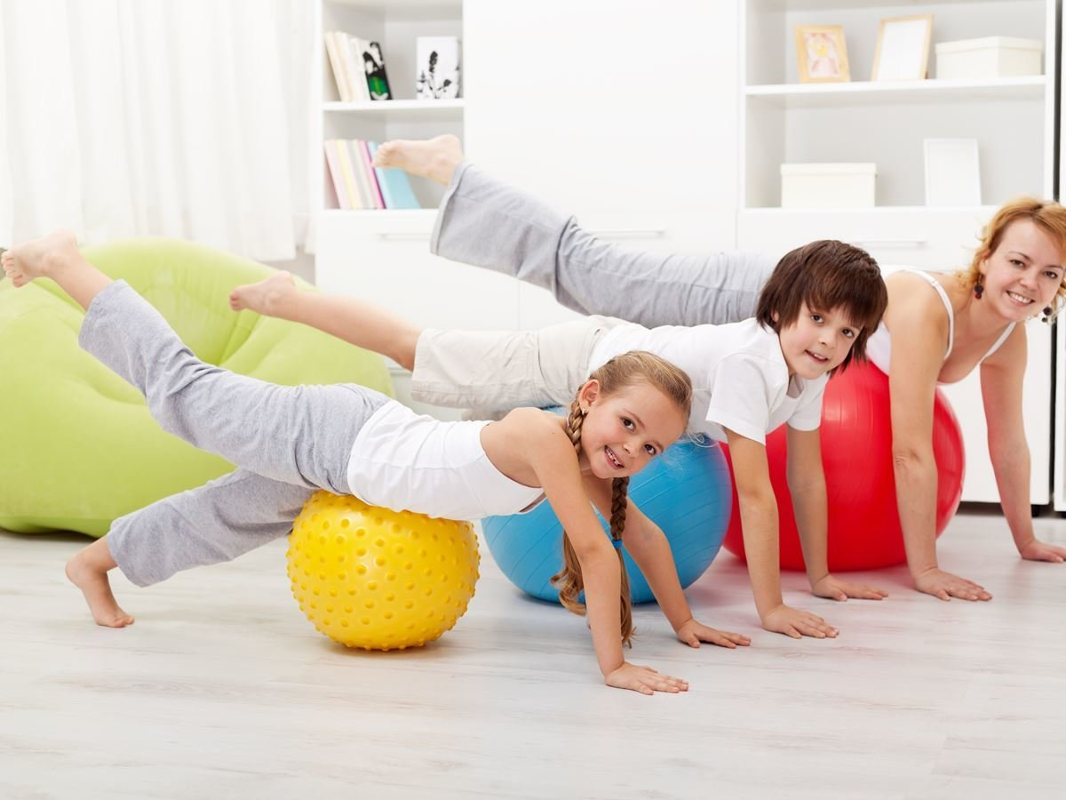 Children exercise