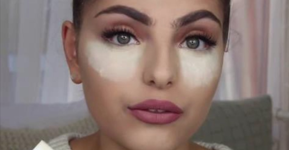 Image result for She Put Some Baking Soda Under Eyes, The Result Is Wonderful!